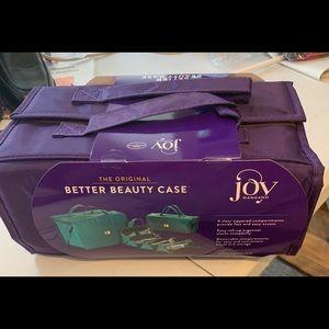 New! Joy Mangano Better Beauty Case
